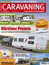 CARAVANING Cover Februar 2016