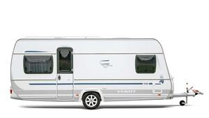 Caravan Fendt Saphir Seitenansicht