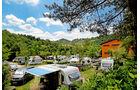 Der Campingplatz Norcenni Girasole in Figline Valdarno ist ein guter Startpunkt für einen Streifzug.