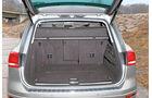 Der grosse Kofferraum.