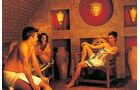 Die Römer-Sauna ist ein Höhepunkt der Limes-Therme.