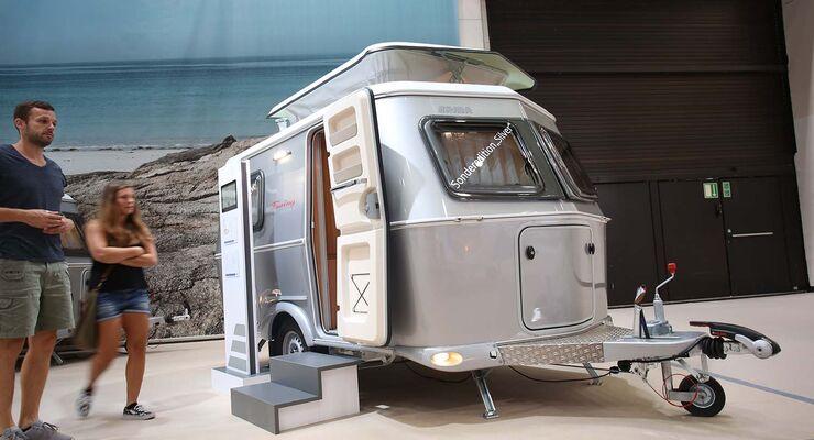 mini caravans auf dem caravan salon 2016 caravaning. Black Bedroom Furniture Sets. Home Design Ideas
