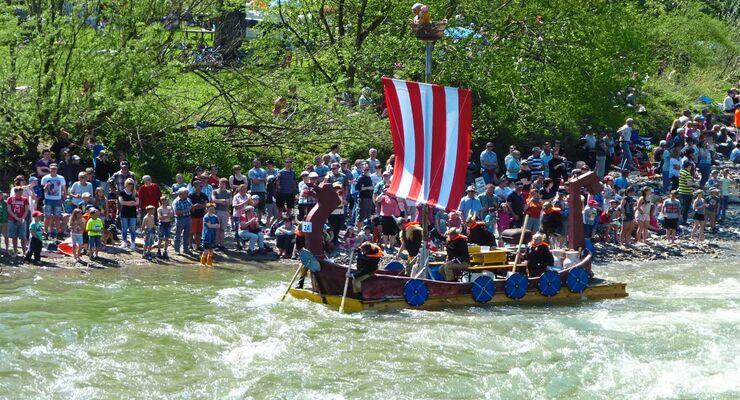 Floßrennen Schweiz