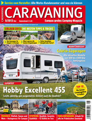 Heft Caravaning Ausgabe 05-2013