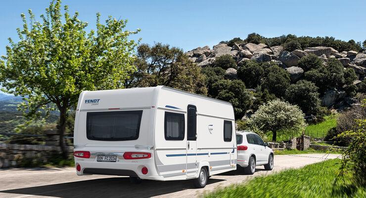 Intercaravaning vermietet Fendt-Caravans