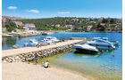 Jakisnica, ein vertraeumter Ort im Inselnorden.