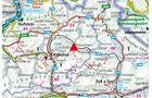 Karte Region Fieberbrunn