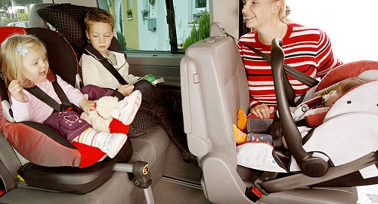 Kinder, sitz, sicherheit, gurt, Reisemobil, wohnmobil, caravan, wohnwagen