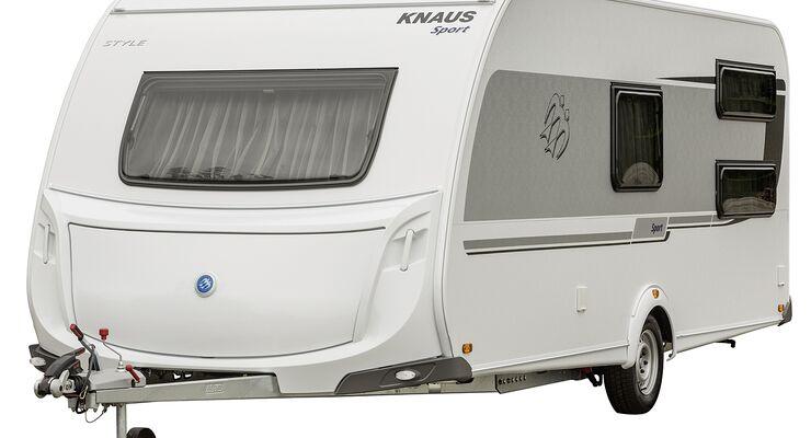Knaus stellt mit dem Sport Style ein umfangreich ausgestattetes Sondermodell des Einsteiger-Caravans in fünf Grundrissen vor.