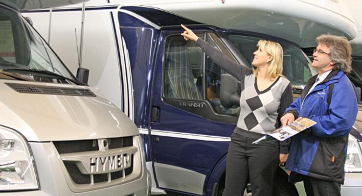 Markt gebrauchte Freizeitfahrzeuge Wohnwagen Caravan Reisemobil Wohnmobil