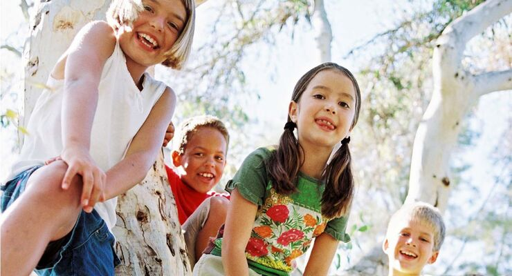 Natur pur für Kinder im Knaus Campingpark Lackenhäuser