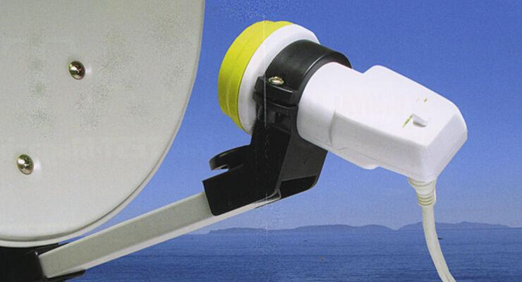 Sat-Anlage Satelliten-Finder LBN Microelectronic Caravan