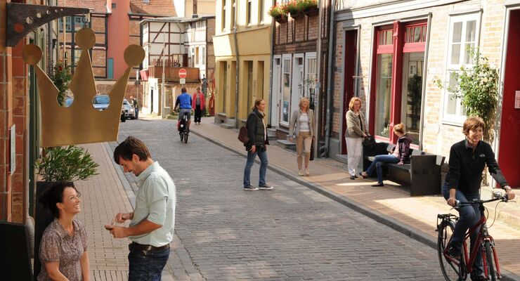 Shoppen in Schwerin, Altstadt