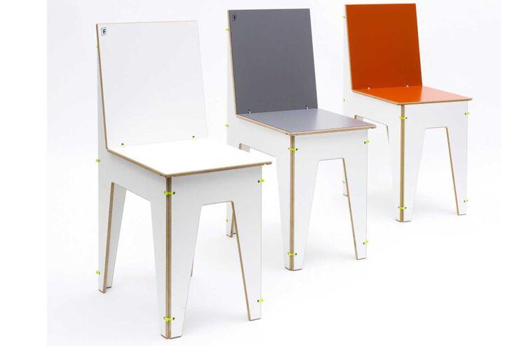 Stuhl Luise dreifarbig