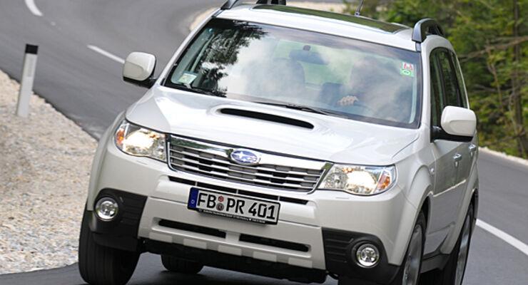 Subaru, händler, wohnwagen, caravan, zugwagen