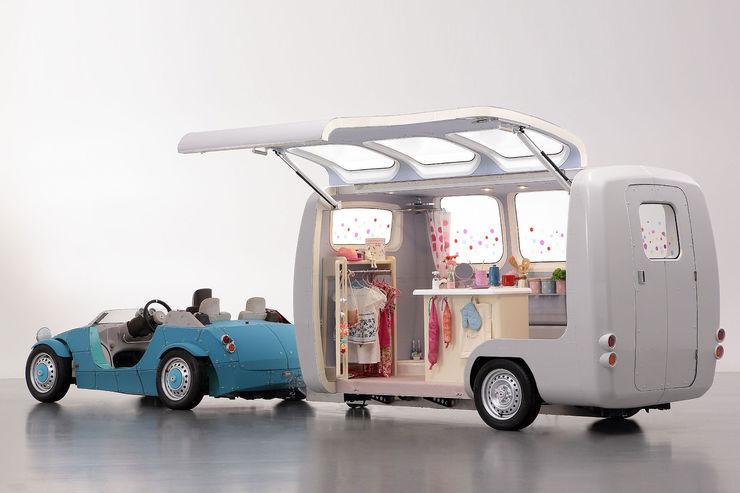 Toyota DIY Wohnwagen