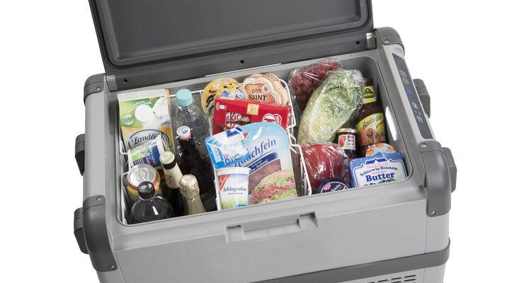 Waeco gibt bis Ende August Käufern einer Kühlbox Cool Freeze CFX gratis die Kühltasche Cool Fun S 28 DC dazu.