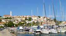 Hafenstädtchen Vrsar auf Istrien