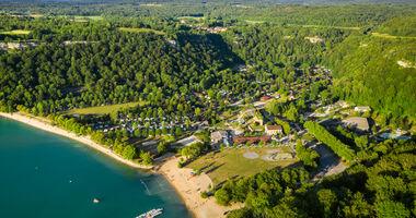 4-Sterne Camping am Lac de Chalain