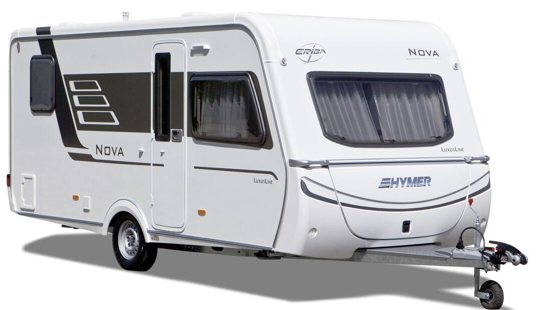 """Ab der Saison 2012/2013 heißen alle Caravans von Hymer """"Eriba"""". Premiere feiert in der neuen Saison der kompakte Eriba-Exciting."""