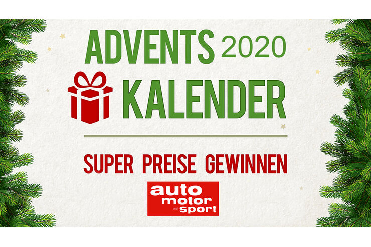 Adventskalender 2020: Preise im Wert von über 25.000 Euro absahnen!