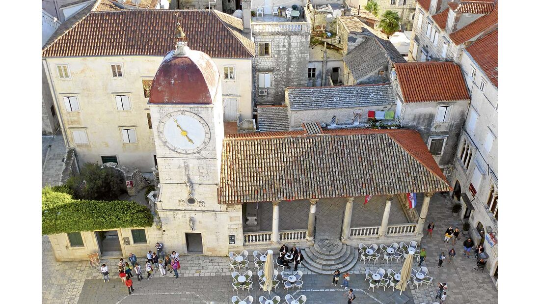 Altstadt Trogir Kroatien Dalmatien