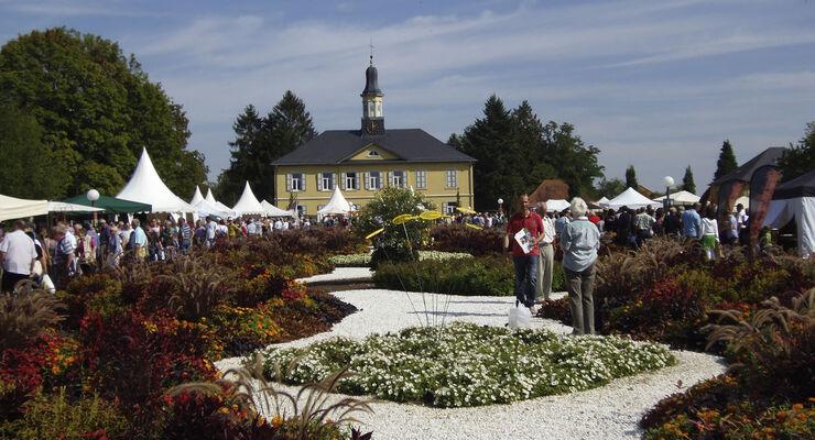 """Am 20. und 21. September 2014 strömen wieder Tausende von Pflanzenliebhabern nach Bad Rappenau. zur Messe """"Garten & Genuss"""". Dort erhalten sie Wissen. Tipps und Ideen zum Gärtnern."""