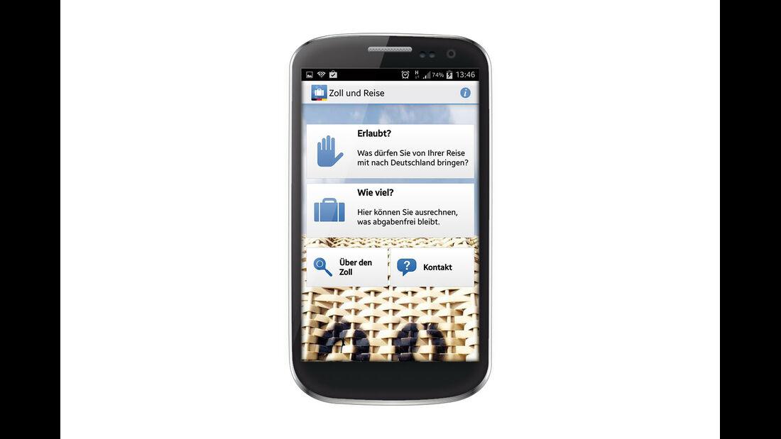 App für Zollwaren
