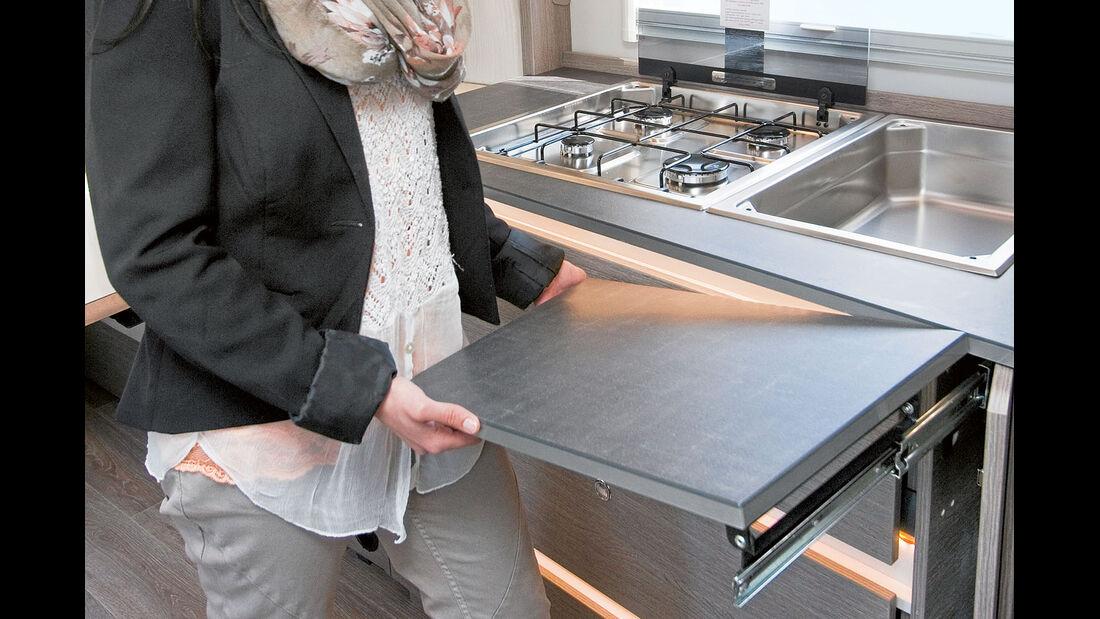 Arbeitsfläche Küche
