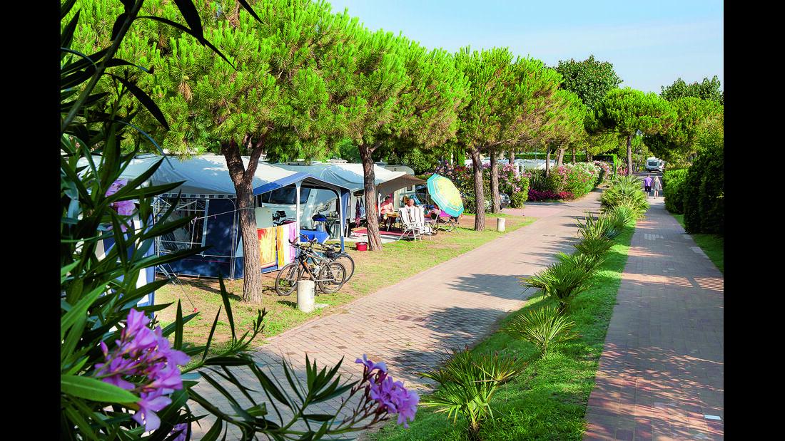 Archiv: Campingplatz-Tipps: Camping-Bestenliste, CAR 08/2012 - Camping Jesolo International