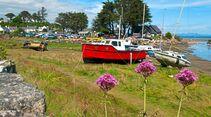 Auf der nördlichen Halbinsel Llyn liegt das idyllisch anmutende Städtchen Abersoch.