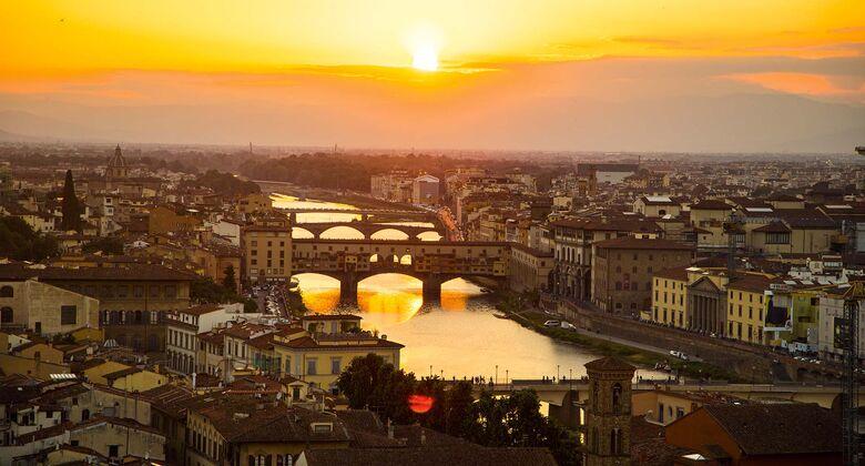 Ausblick auf Florenz