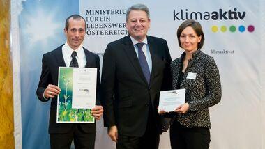 Auszeichnung klimaaktiv energieeffiziente Betriebe