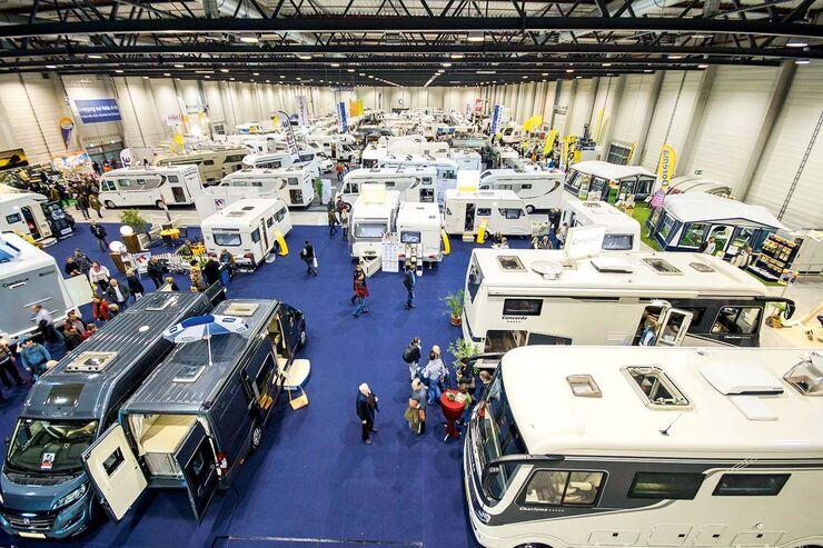 Messe Auto Camping Caravan im Berliner Expo-Center Airport ...