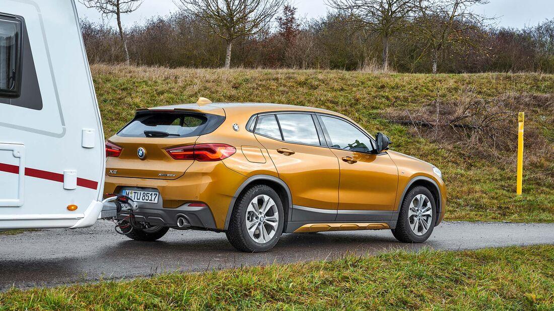 BMW X2 xDrive 20d Zugwagentest