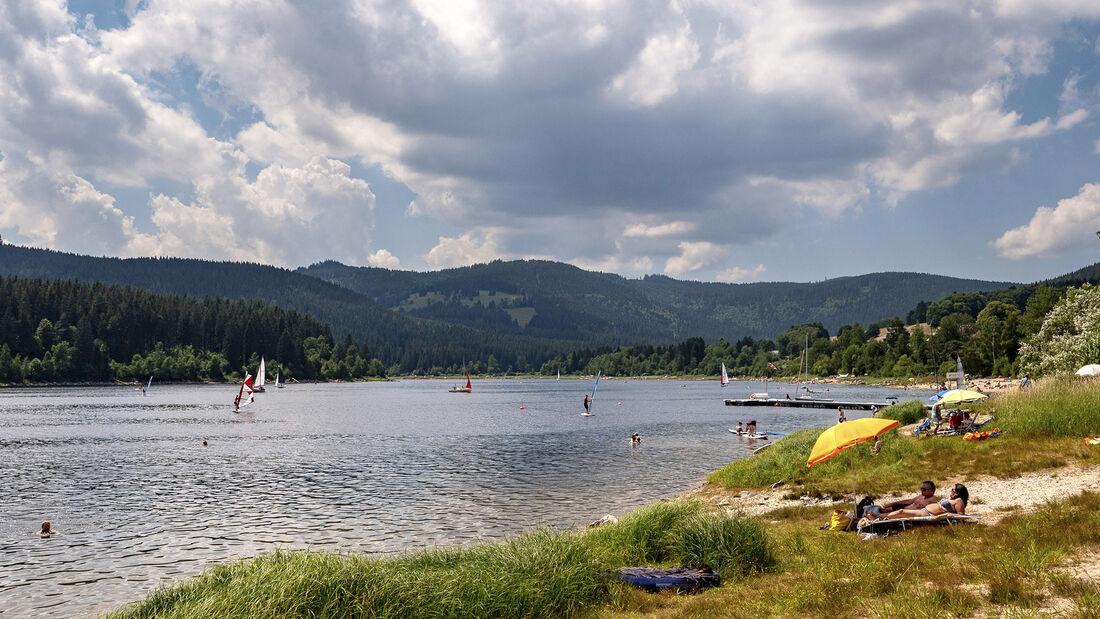 Badeseen in Deutschland
