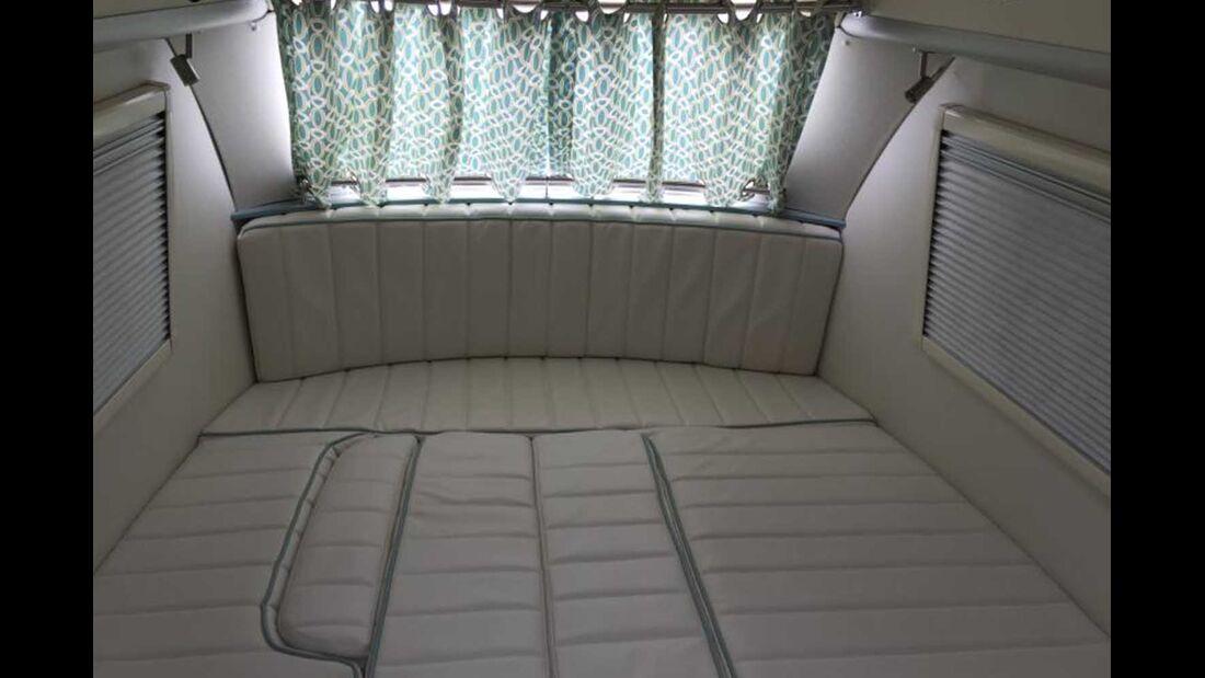 Barefoot Wohnwagen Bett