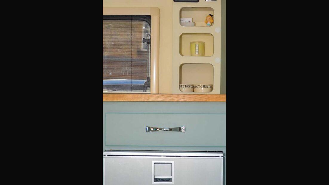 Barefoot Wohnwagen Küche