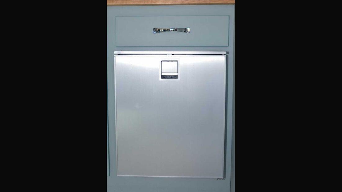 Barefoot Wohnwagen Kühlschrank