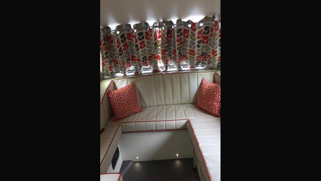 Barefoot Wohnwagen Sitzgruppe