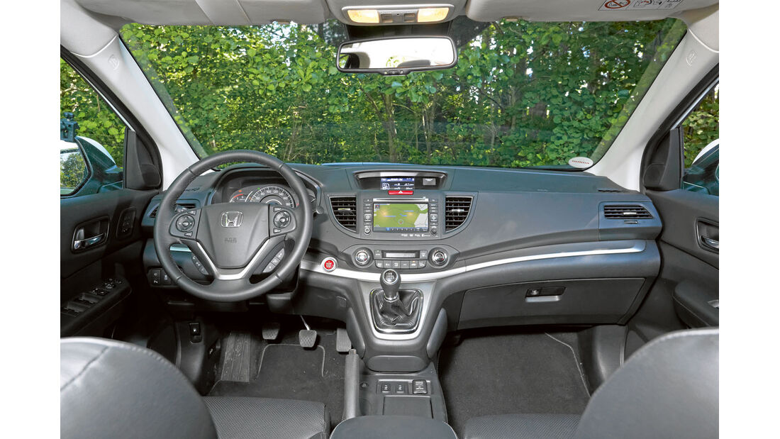 Bedienelemente beim Honda CR-V