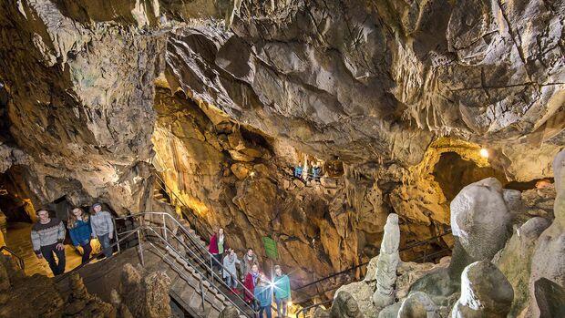 Begehbare Höhlen Bilsteinhöhle