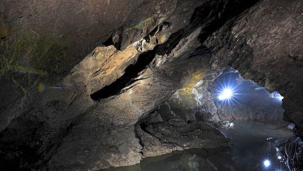 Begehbare Höhlen Drachenhöhle