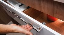 Bei Küchenschubladen wird häufig die Verriegelung reklamiert beim Bürstner Averso