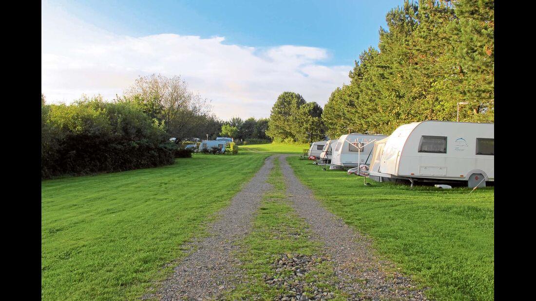 Beschaffenheit der Campingplatz-Hauptwege kann ein Sterne-Kriterium sein