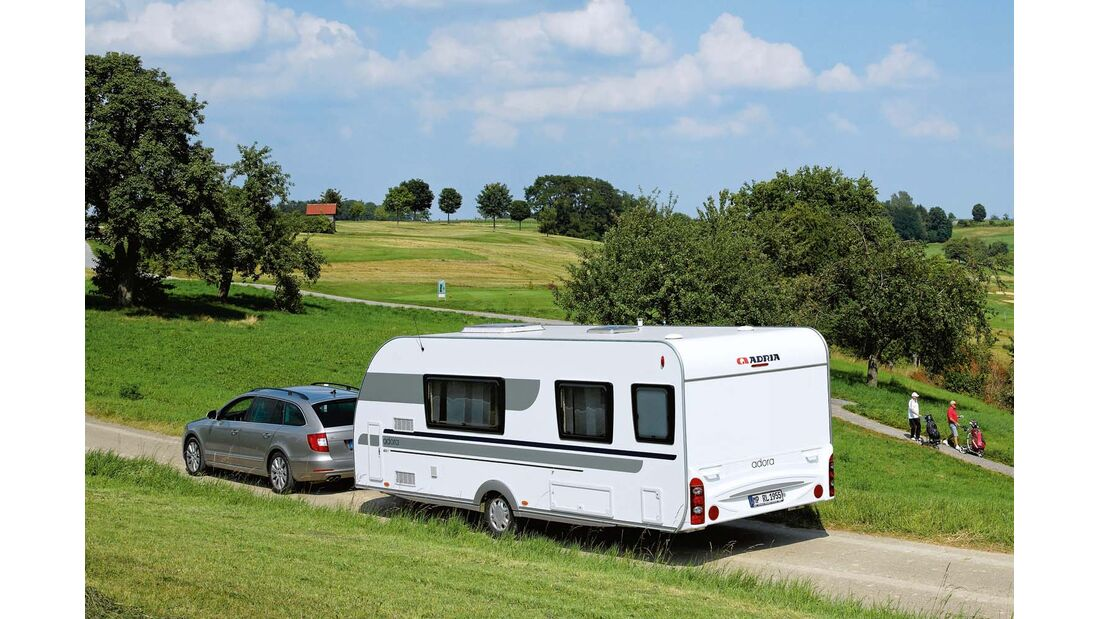 Besitzen Sie einen Adria-Caravan?
