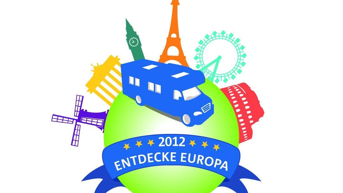 """Besucher können beim Messe-Spiel """"Entdecke Europa"""" zehn Reisegutscheine für einwöchige Caravaning-Urlaube gewinnen."""