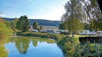 Bilder vom Campingplatz Beilngries an der Altmühl.