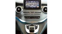 Bildschirm im Mercedes V 250