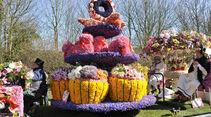 Blumenkorso in den Niederlanden